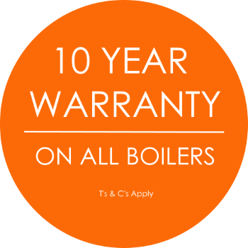 boiler warranty sticker