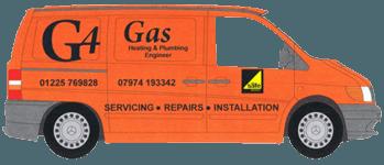 g4 gas van logo