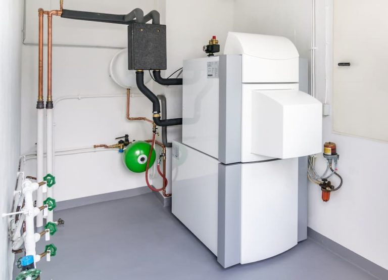 modern oil boiler